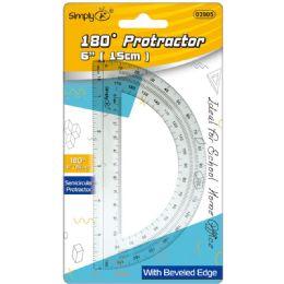 96 Units of Semicircular Ruler - Rulers