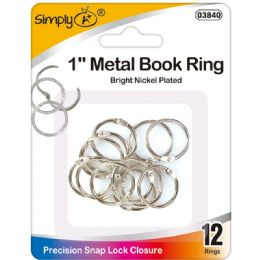 96 Units of Book Rings - Book Covers
