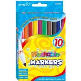 60 Units of 72 Color Super Tip Washable Marker - Markers and Highlighters