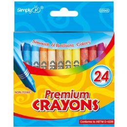 96 Units of 24 Count Crayon - Crayon