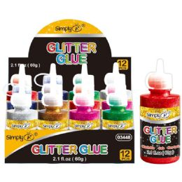 48 Units of Glitter Glue - Craft Glue & Glitter