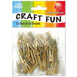 96 Units of 50 Piece Mini Clip - Craft Beads