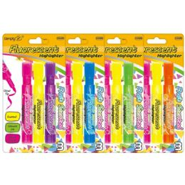 96 Units of 3 Count Highlighter - Markers and Highlighters