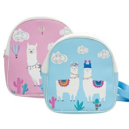 "12 Units of Kid's Backpack Llama - Backpacks 15"" or Less"