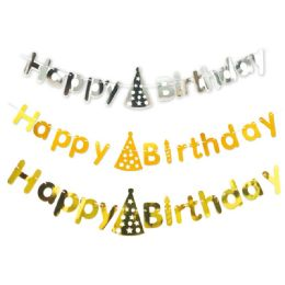 72 Units of Birthday Banner Assorted 10 Feet - Party Banners