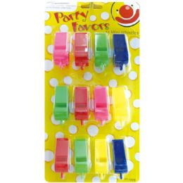 96 Units of Party Favor Mini Whistles - Party Favors