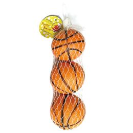 96 Units of Party Favor Pu Basketball - Party Favors