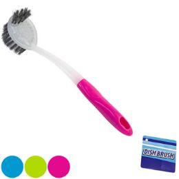 36 Units of Dish Brush W/mini Scraper Brush - Store