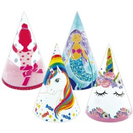 96 Units of 6 Count Birthday Hat - Party Favors
