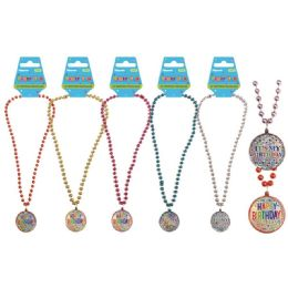 96 Units of Birthday Necklace - Party Favors