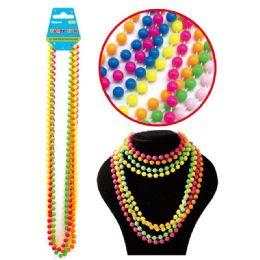 96 Units of Plastic Necklace - Party Necklaces & Bracelets