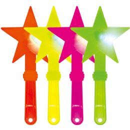 100 Units of Led Neon Star Wand - LED Party Supplies