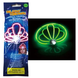 96 Units of Glow Crown - LED Party Supplies
