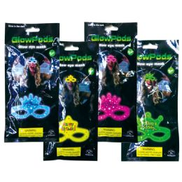 96 Units of Glow Mask - LED Party Supplies