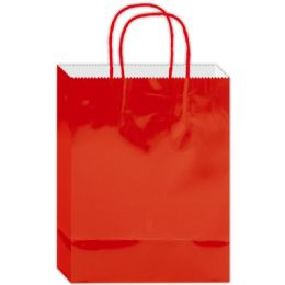 120 Units of Everyday Gift Bag Red Large - Gift Bags Everyday