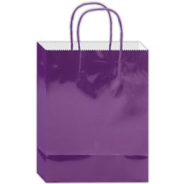 120 Units of Everyday Gift Bag Purple Large - Gift Bags Everyday