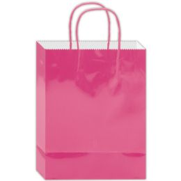 180 Units of Everyday Gift Bag Hot Pink Size Medium - Gift Bags Everyday