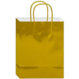180 Units of Everyday Gift Bag Gold Size Medium - Gift Bags Everyday