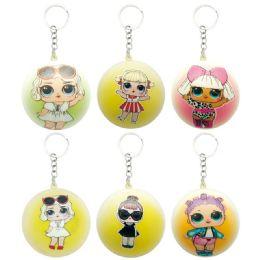 144 Units of Key Chain Soft Doll - Key Chains