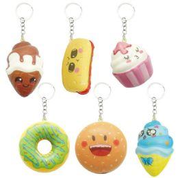 144 Units of Key Chain Soft Snack - Key Chains