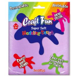 96 Units of Modeling Dough Lavender - Clay & Play Dough