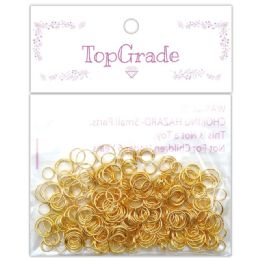 96 Units of Do It Yourself Ring Gold - Craft Stems