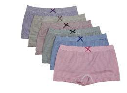 36 Units of Ladies Seamless Boxers - Womens Panties & Underwear