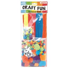 48 Units of 300 Count Chenille Stem Set - Craft Stems