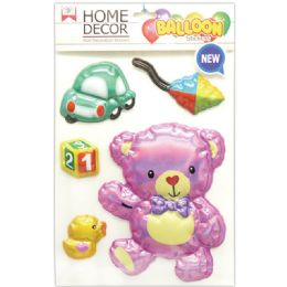 144 Units of Room Decoration Sticker Baby - Stickers