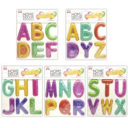 48 Units of Room Decoration Sticker ABC Pattern - Stickers