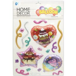 48 Units of Room Decoration Sticker Birthday Pattern - Stickers