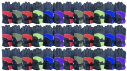 36 Units of Yacht & Smith Kids Thermal Sport Winter Warm Ski Gloves Bulk Pack - Kids Winter Gloves