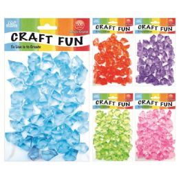 96 Units of Acrylic Crystal Stone - Craft Beads