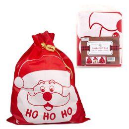 36 Units of Santa Sack Jumbo Nonwoven 35x44 - Christmas Decorations