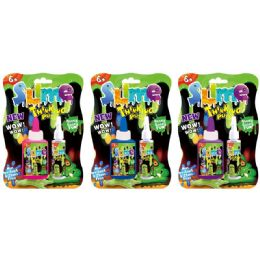 72 Units of Two Piece Do It Yourself Slime Set - Slime & Squishees