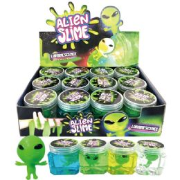 96 Units of Led Alien Slime - Slime & Squishees