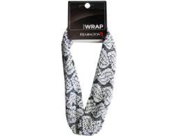 108 Units of Leaf Cotton Print Headwrap - Head Wraps