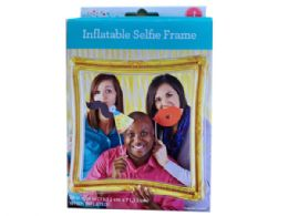 48 Units of Gold Inflatable Selfie Frame - Inflatables