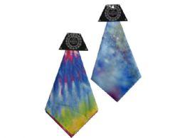 72 Units of Tie-dye Design Bandana 2 Asst - Bandanas