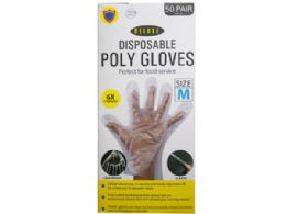 36 Units of 100 Pack Medium TPE Glove - Working Gloves