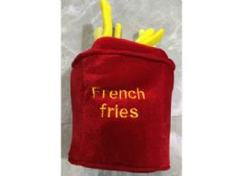 12 Units of french fries costume hat - Costumes & Accessories