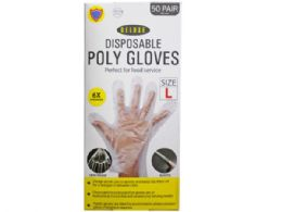 36 Units of 100 Pack Large TPE Glove - Working Gloves