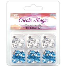 96 Units of Rhinestone Set Assorted - Craft Beads