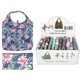24 Units of Reusable Shopping Bag - Tote Bags & Slings