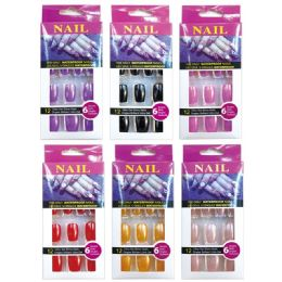 96 Units of Nail Assorted Color - Manicure and Pedicure Items
