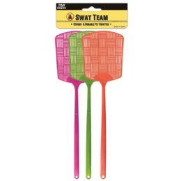 96 Units of 3 Piece Fly Swatter - Pest Control