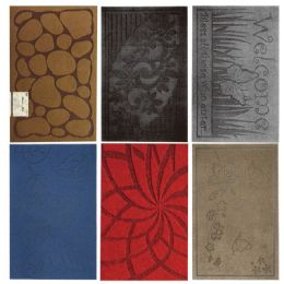 12 Units of Assorted Print Door Mat - Home Decor