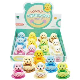 48 Units of Lovely Rotation Dog - Light Up Toys