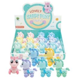 48 Units of Lovely Happy Pony Toy Unicorn - Light Up Toys