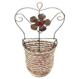 60 Units of Flower Hanging Basket - Artificial Flowers